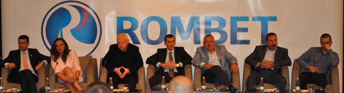 membrii asociatiei  organizatorilor de jocuri de noroc Rombet