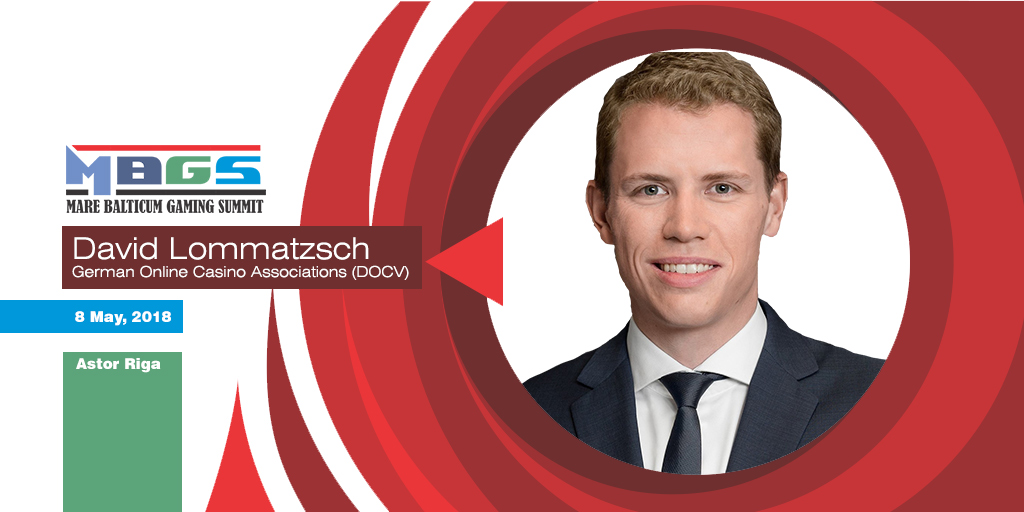 Germany's Gambling Market in the focus at Mare Balticum Gaming Summit 2018 with David Lommatzsch (German Online Casino Association)