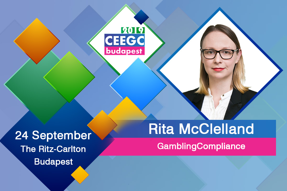 Emerging CEE jurisdictions (compliance panel discussion) moderated by Rita McClelland (GamblingCompliance) at CEEGC2019 Budapest