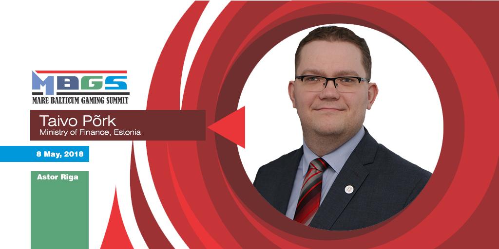 Estonian regulator, Taivo Põrk, to speak at Mare Balticum Gaming Summit 2018