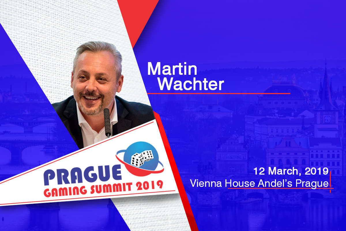 Martin Wachter (CEO and Founder, Golden Race) to join the Marketing & Innovation panel at Prague Gaming Summit 3