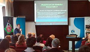 Rombet merge la Oradea și Bistrița, pentru două noi seminarii pe teme de fiscalitate