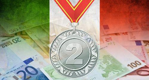 Italia devine a doua cea mai mare piață de gambling online, după Marea Britanie